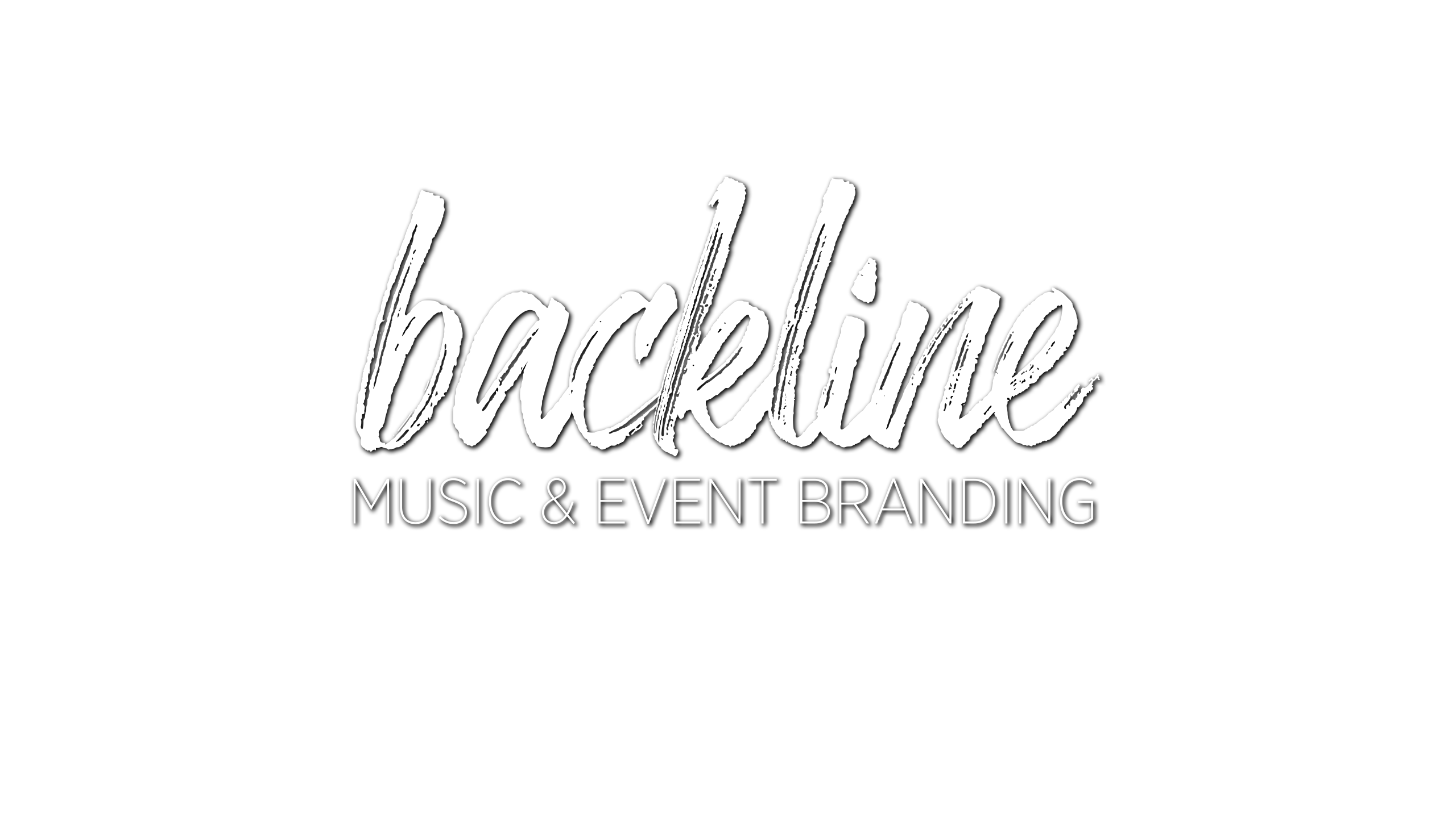 Backline Music & Event Branding Logo